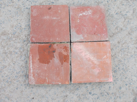 Red 6 x 6 Quarry Tiles | Frome Reclamation